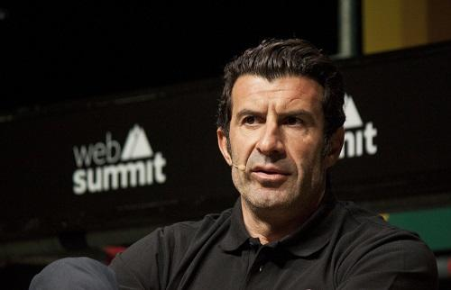 Luis Figo invited fans to Baku -