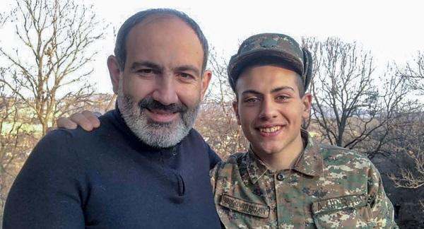 As soon as Pashniyan's son discharged the attack started