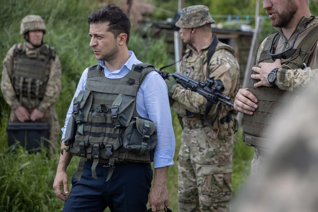 Zelensky plans disengagement of forces along contact line
