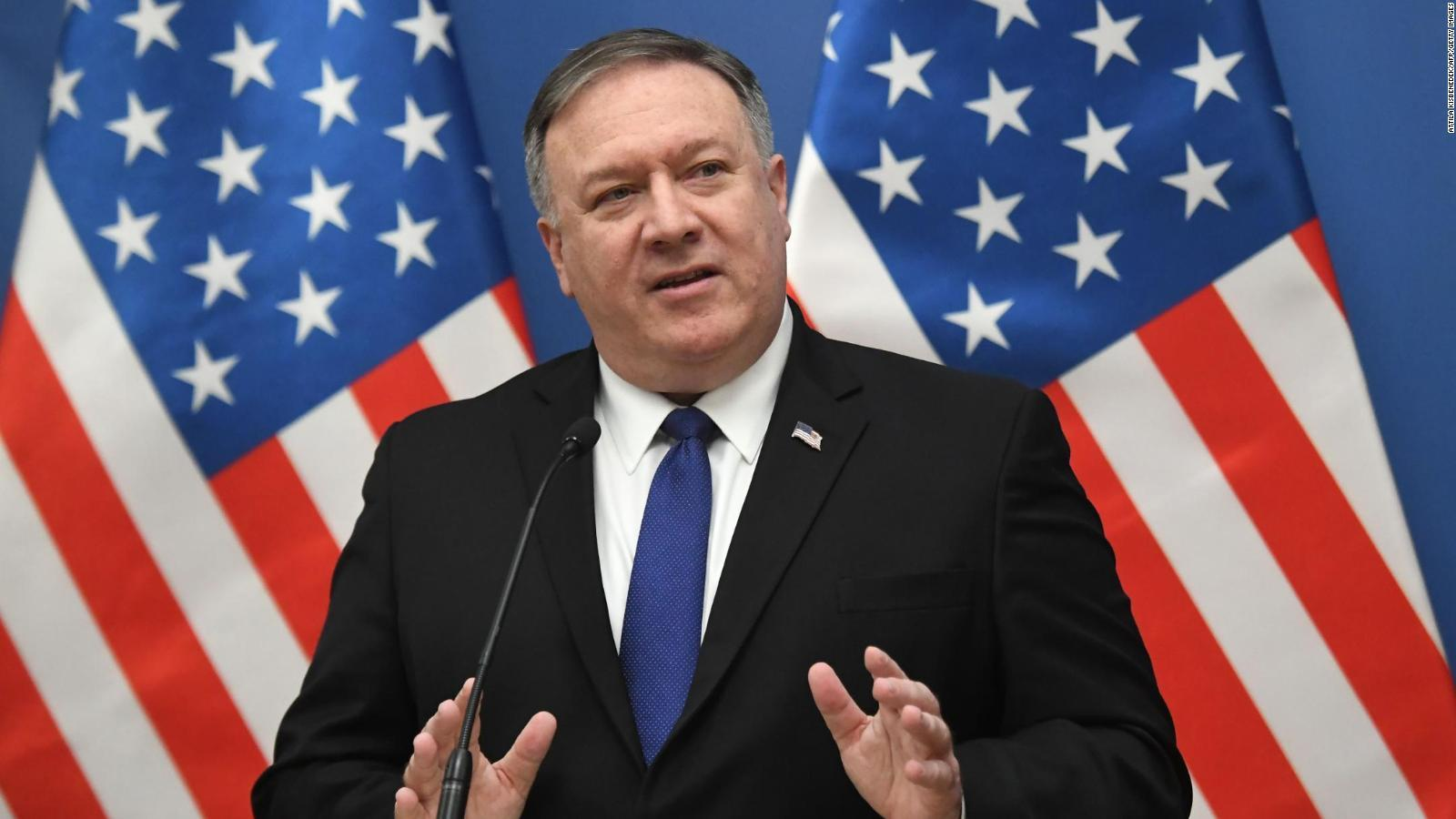 Secretary of State Pompeo says US prepared to talk to Iran