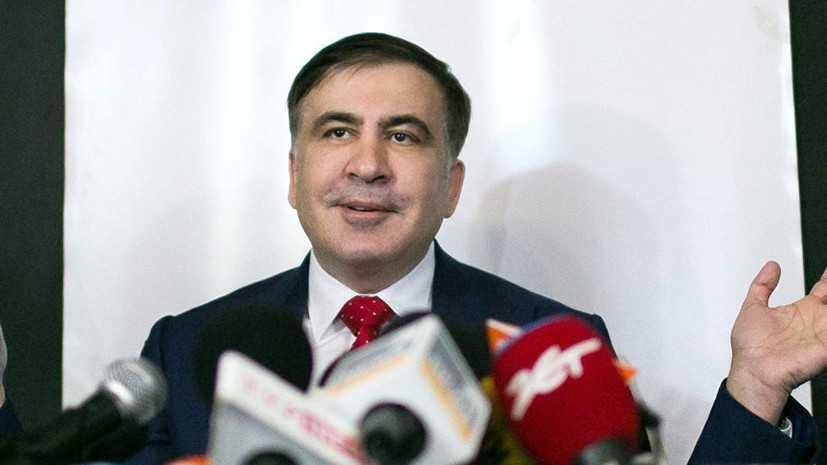 Gürcüstanda hakimiyyət dəyişir - Saakaşvili elan etdi