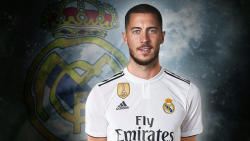 Hazard: Benzema is the world's best striker