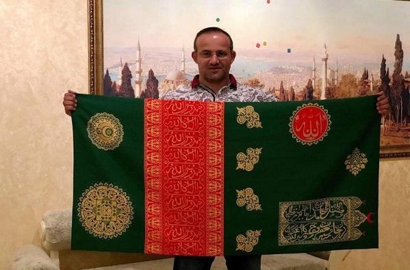 Gəncə xanlığının tarixi bayrağı ölkəyə gətirildi
