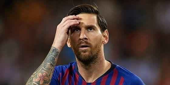 Messi repeated his personal antirecord