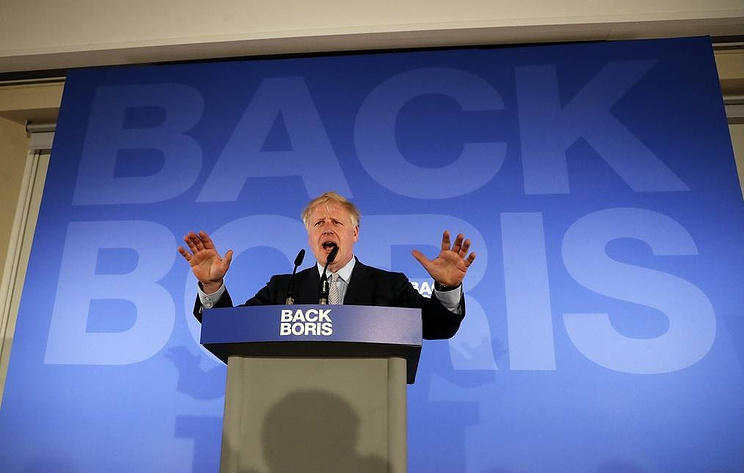 Johnson tells Germany and France: Do a Brexit deal