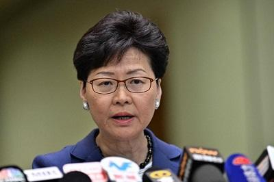 US imposes sanctions on chief executive Carrie Lam