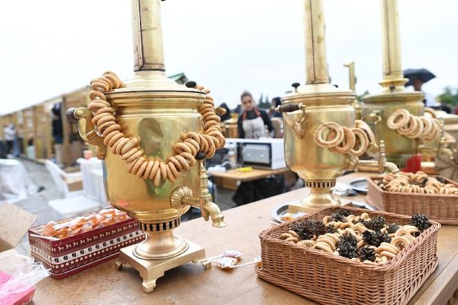 """Азербайджанские традиции на """"Самоварфесте"""" - Видео"""