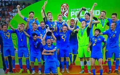 Ukrayna millisi dünya çempionu oldu - İlk dəfə