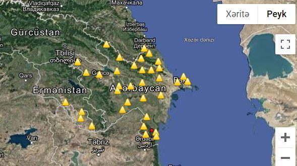 В Лянкяране произошло землетрясение
