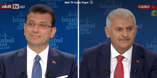 2 candidates spar in Istanbul mayoral race debate