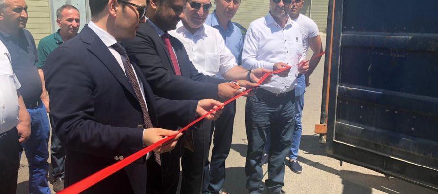 Əfqanıstan məhsullarının ilk partiyası ölkəmizə gətirildi