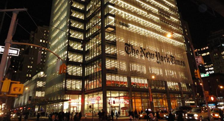 New York Times rejects Trump's treason accusations