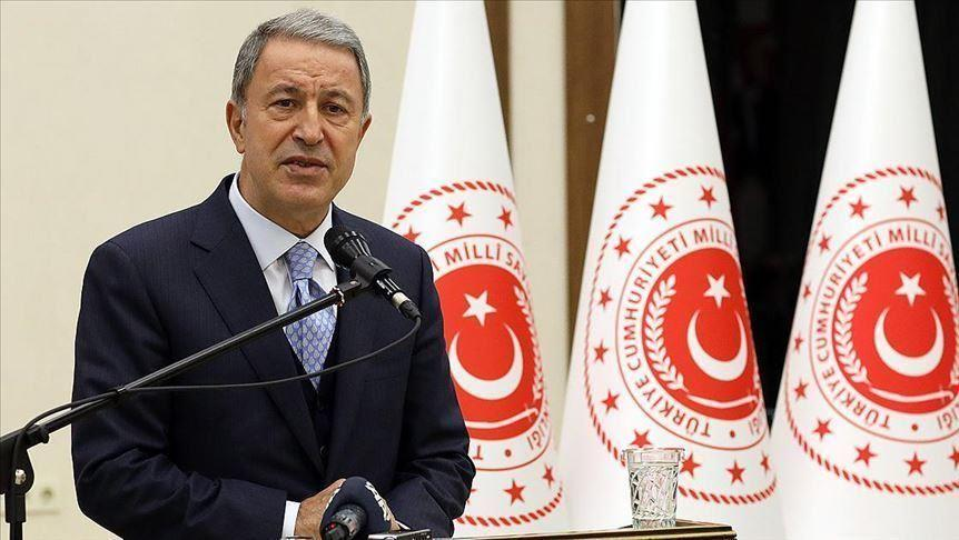 Strict message from Hulusi Akar