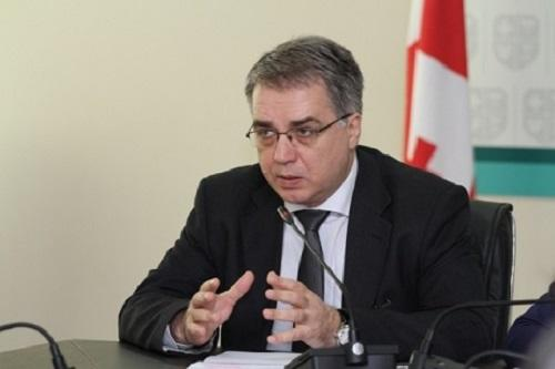 Georgian Health Minister resigns