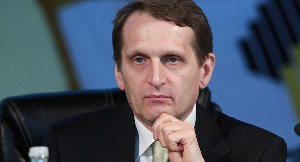 Naryshkin statement on the solution of Karabakh conflict