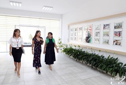 Лейла Алиева посетила столичные школы-интернаты