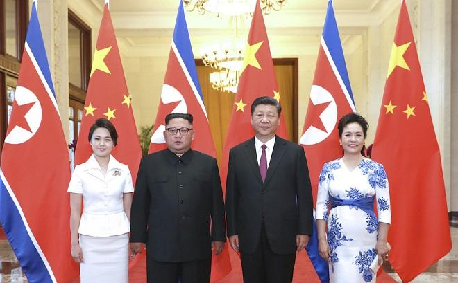 Ким Чен Ын лично встретил Си Цзиньпина