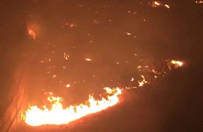Bakıda eyni yer 10 gün ərzində ikinci dəfə yandı – Video
