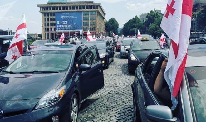 Грузия: 5-й день протестов - Обновлено