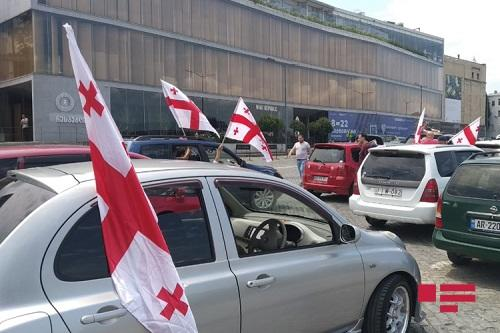 3 rallies planned in Tbilisi today including car rally