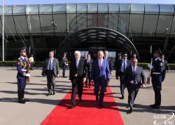 Markovic's visit to Azerbaijan ended