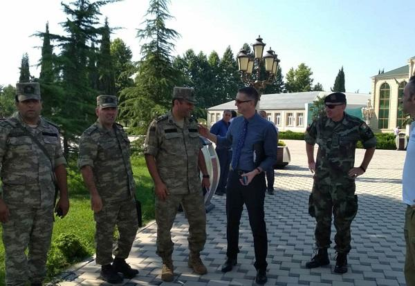 OSCE delegation arrives in Agdam