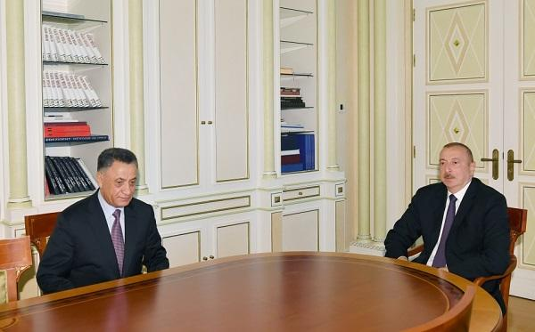 President Ilham Aliyev receives Ramil Usubov -
