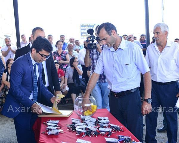 Qarabağ müharibəsi əlillərinə yeni mənzillər verildi - Foto