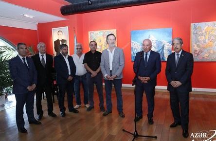 Bakıda Rizvan İsmayılın fərdi sərgisi açıldı - Foto