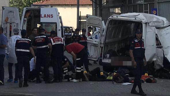 Türkiyədə dəhşətli qəza: 10 ölü, 30 yaralı
