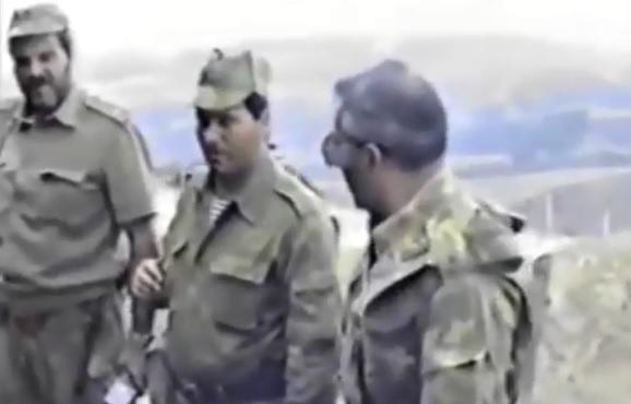 General Qarabağ döyüşlərində - Tarixi video