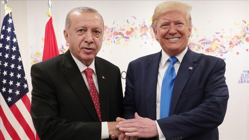 Trump shared Erdogan's message
