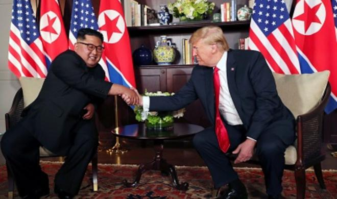 پیونگ یانگ محاربه باشلاداجاقدی، لاکین... - ترامپ