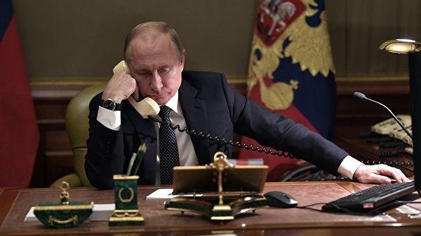 Russia's Putin, UAE leader discuss Libya over phone