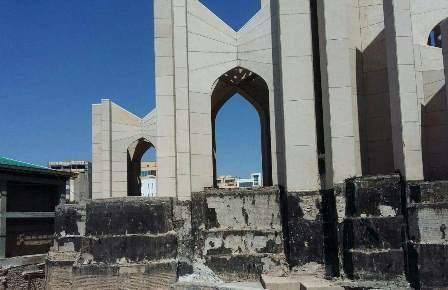 نقش میراث فرهنگی در مقبره الشعرا، در حد ثبت ملی المان آن است