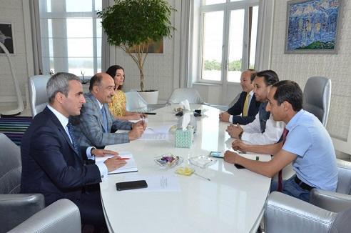 Əbülfəs Qarayev bu əyalətin baş naziri ilə görüşdü - Foto