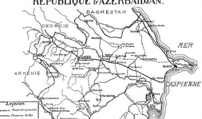Paris Konfransında qəbul edilən Azərbaycan xəritəsi - Video