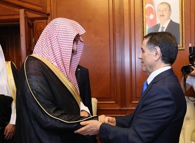 Azerbaijani PM met with Saudi Minister of Justice -