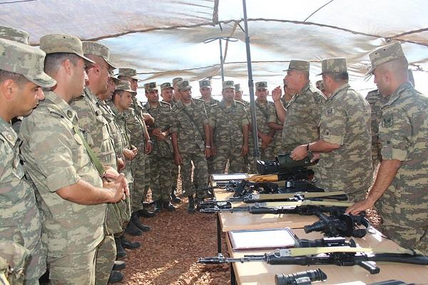 Training-methodical sessions were conducted in the Army Corps