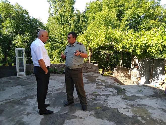 """Erməni evini dağıdan """"metafizik"""" gülləmiz – Video"""