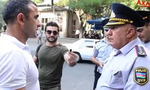 Gözləyirsiz ki, polkovnik maşın bassın... - Video