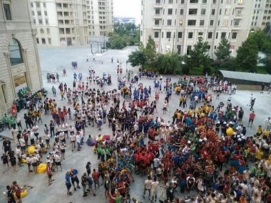 Bakı-2019: Atletlər Kəndində şənlik... - Foto