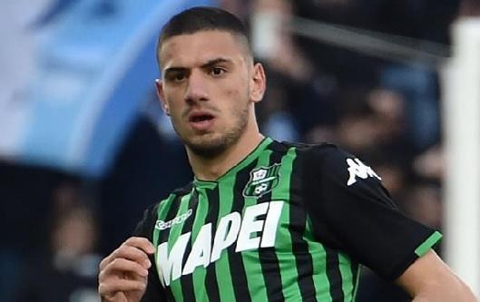 Juventus present Merih Demiral to media