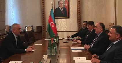 Elmar Mammadyarov met with Lastauskas