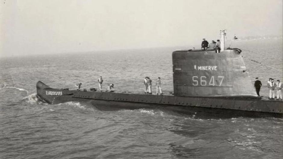 Во Франции нашли подлодку, затонувшую 51 год назад