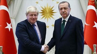 Эрдоган поздравил Джонсона