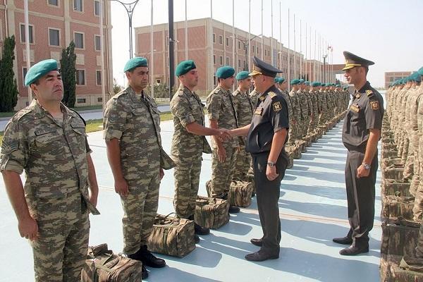 Миротворцы Азербайджана отправлены в Афганистан - Видео