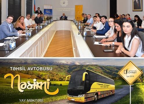 """""""Kapital Bank"""" """"Təhsil avtobusu""""nun rəsmi tərəfdaşıdır"""