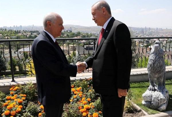 Erdogan visited Bahceli