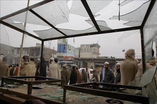Explosion in Pakistan left 2 dead, 17 injured